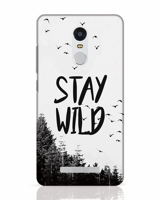 Shop Stay Wild Xiaomi Redmi Note 3 Mobile Cover-Front