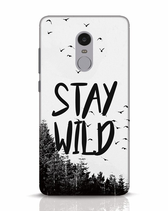 Shop Stay Wild Xiaomi Redmi Note 4 Mobile Cover-Front