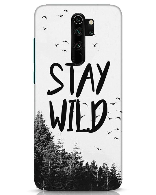 Shop Stay Wild Xiaomi Redmi Note 8 Pro Mobile Cover-Front