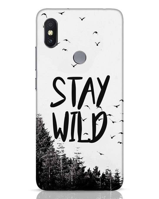 Shop Stay Wild Xiaomi Redmi Y2 Mobile Cover-Front