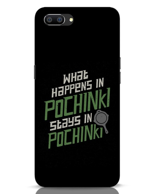 Shop Stays In Pochinki Realme C1 Mobile Cover-Front