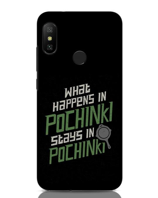 Shop Stays In Pochinki Xiaomi Redmi Note 6 Pro Mobile Cover-Front