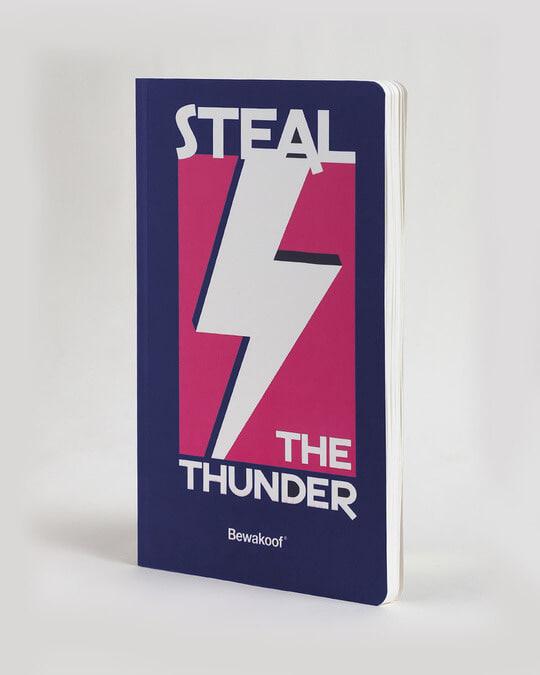 Shop Steal the Number Notebook-Back