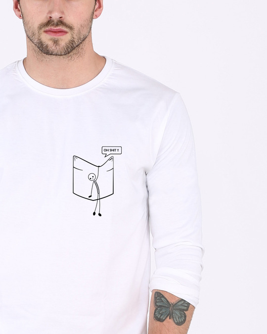 Shop Stick Figure Full Sleeve T-Shirt-Front