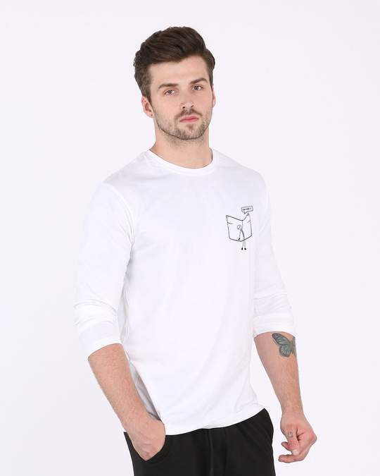 Shop Stick Figure Full Sleeve T-Shirt-Full