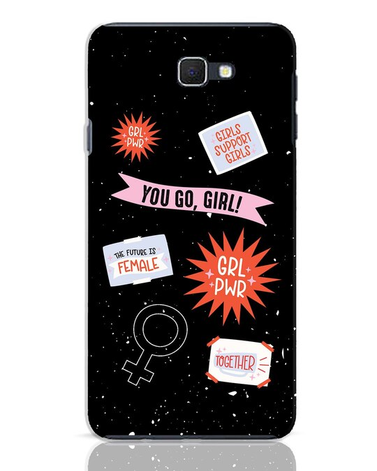 Shop Stickers Samsung Galaxy J7 Prime Mobile Cover-Front