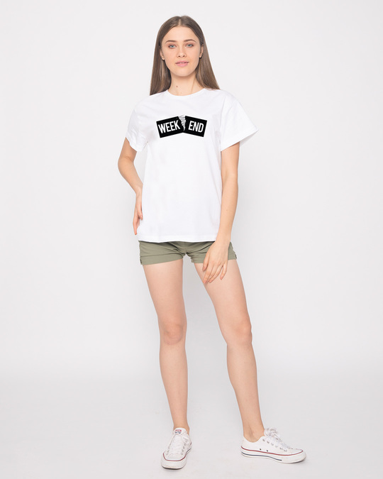 Shop Stitch The Weekend Boyfriend T-Shirt