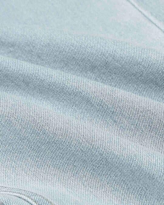 Shop Stone Blue Mid Rise Stretchable Men's Jeans