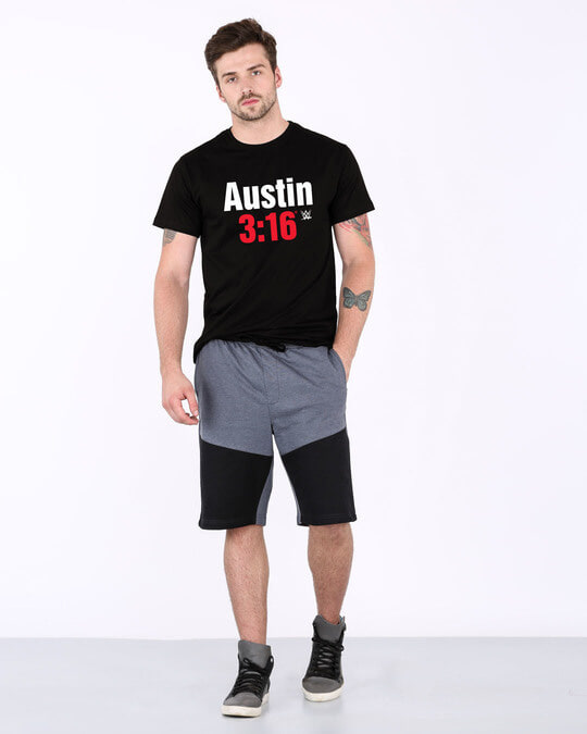 Shop Stone Cold Half Sleeve T-Shirt (WWEL)