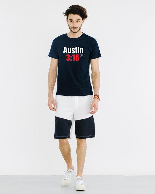 Shop Stone Cold Half Sleeve T-Shirt (WWEL)