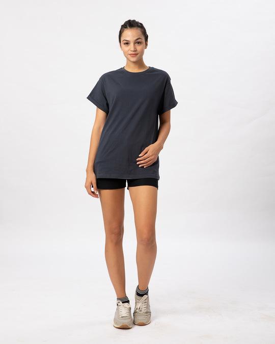Shop Stone Grey Boyfriend T-Shirt