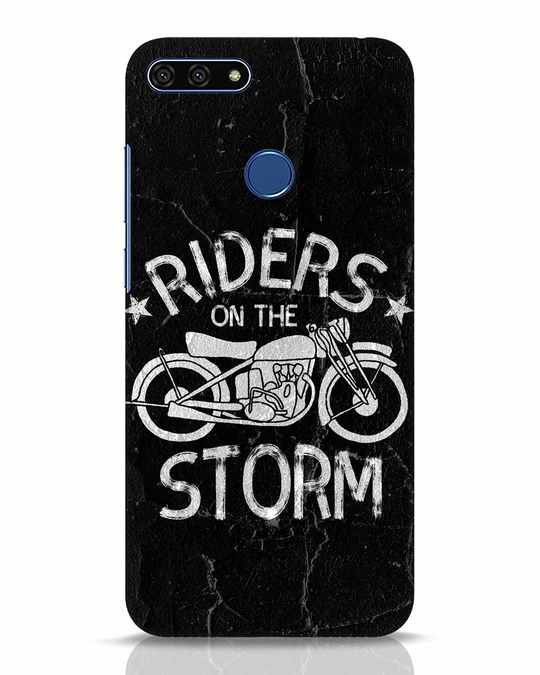 Shop Storm Rider Huawei Honor 7A Mobile Cover-Front