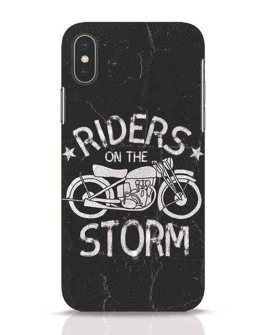 Shop Storm Rider iPhone X Mobile Cover-Front