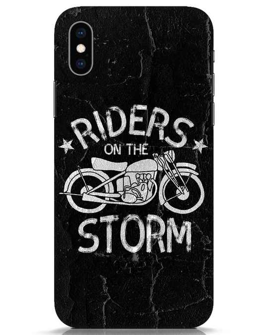Shop Storm Rider iPhone XS Mobile Cover-Front