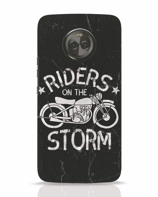 Shop Storm Rider Moto X4 Mobile Cover-Front