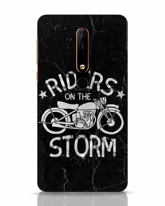 Shop Storm Rider Nokia 6.1 Mobile Cover-Front