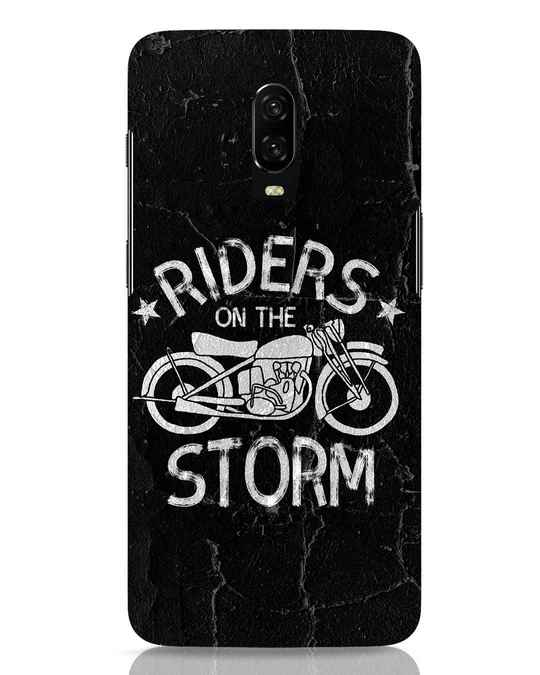 Shop Storm Rider OnePlus 6T Mobile Cover-Front