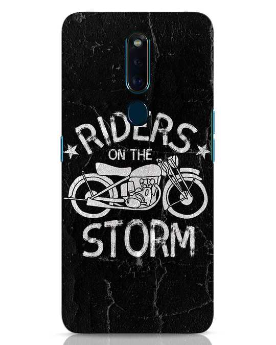 Shop Storm Rider Oppo F11 Pro Mobile Cover-Front