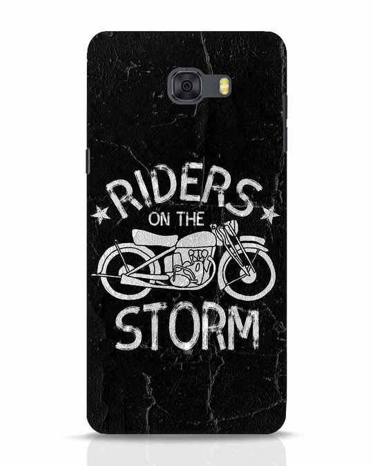 Shop Storm Rider Samsung Galaxy C9 Pro Mobile Cover-Front