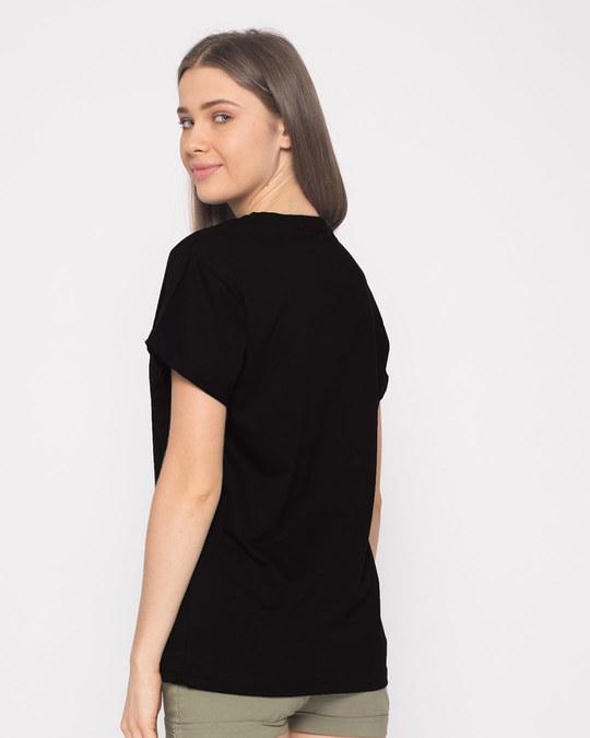 Shop Straight Outta Punjab Boyfriend T-Shirt-Full