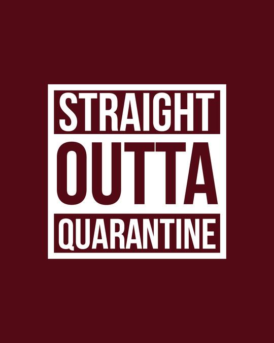 Shop Straight Outta Quarantine Boyfriend T-Shirt