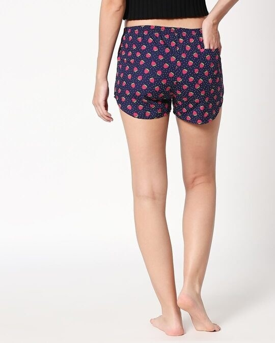 Shop Strawberry Pattern All Over Printed Boxer-Design