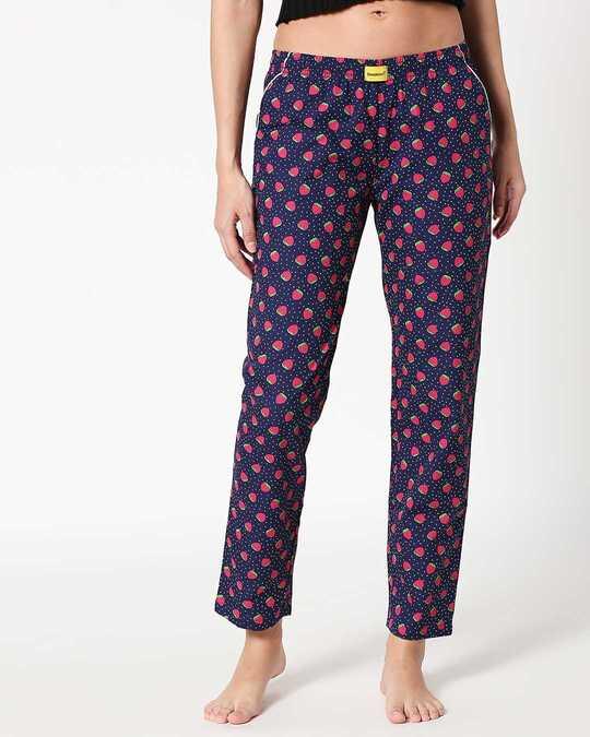 Shop Strawberry Pattern Pyjama-Back
