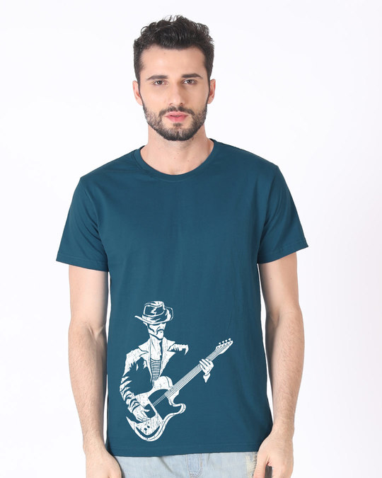 Shop Street Singer Half Sleeve T-Shirt-Back