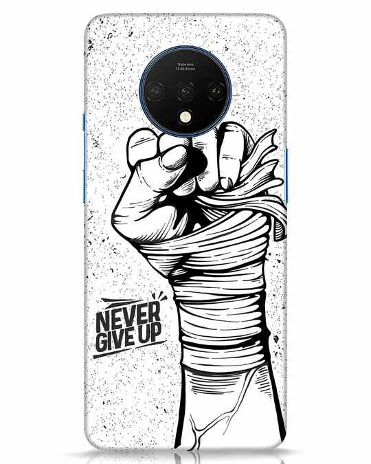 Shop Strength Fist OnePlus 7T Mobile Cover-Front