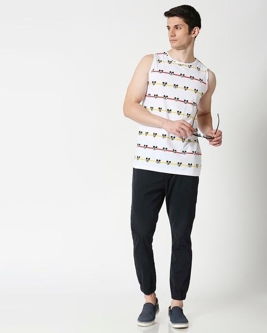 Shop Stripe Mickey AOP Vest T-Shirts-Full