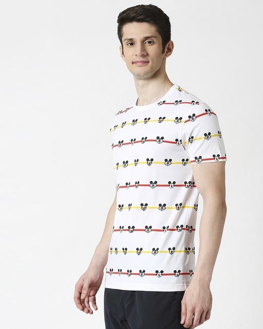 Shop Stripe Mickey (DL) AOP T-Shirt-Design
