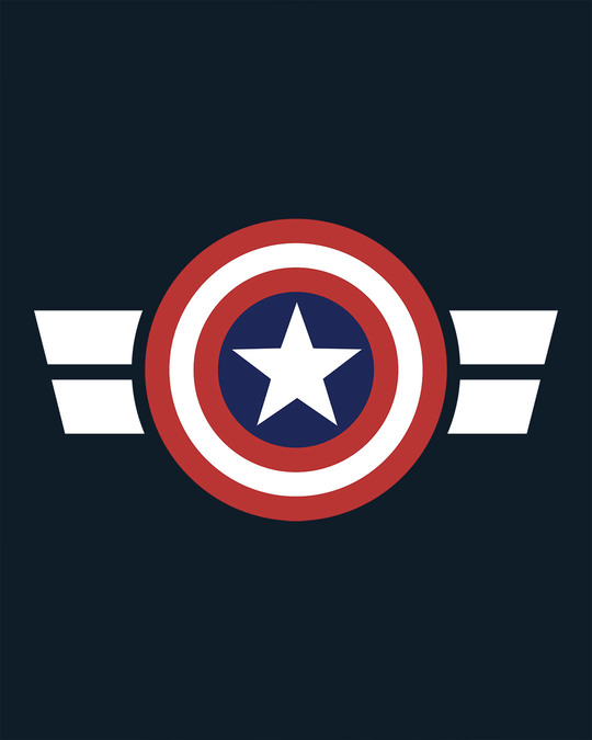 Shop Striped Captain America Sweatshirt (AVL)