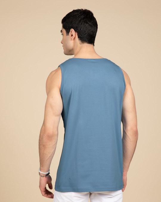 Shop Striped Captain America Vest (AVL)-Back