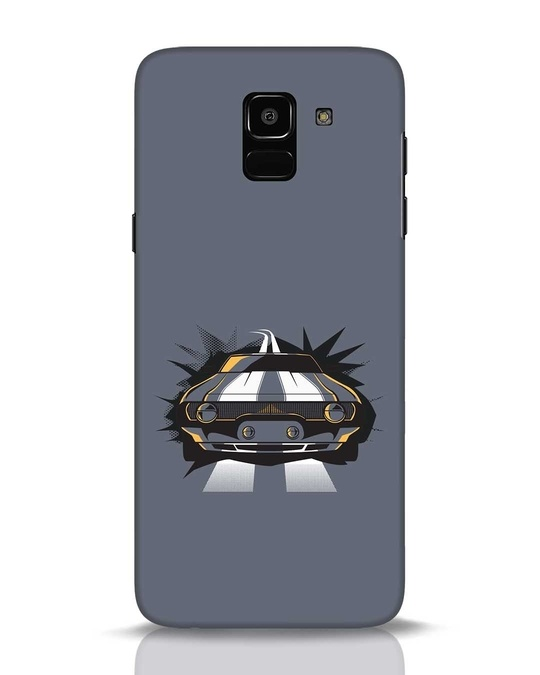 Shop Striped Samsung Galaxy J6 Mobile Cover-Front