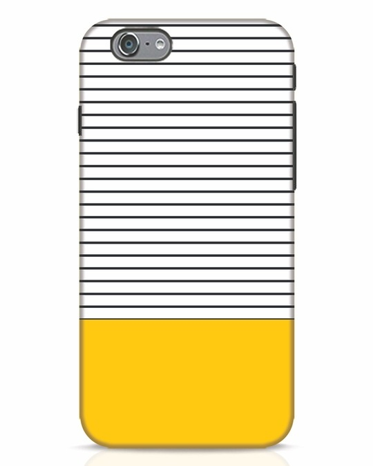 Shop Stripes And Block iPhone 6 Mobile Cover-Front