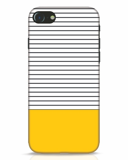 Shop Stripes And Block iPhone 7 Mobile Cover-Front