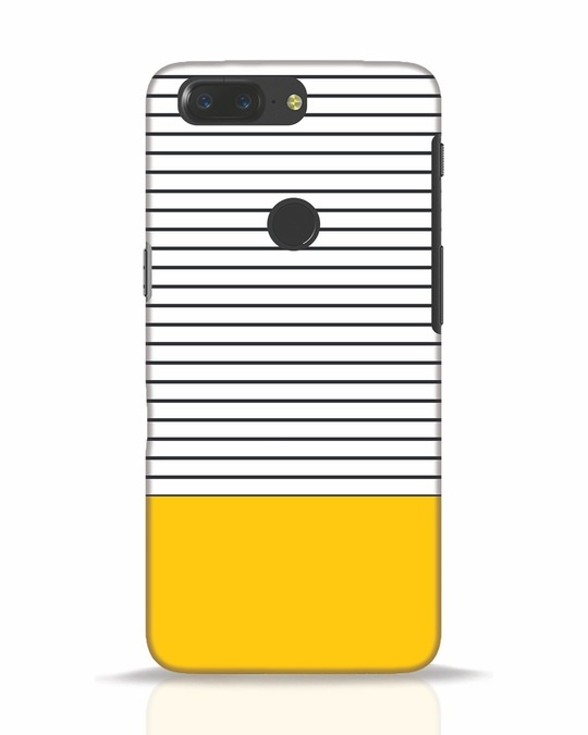 Shop Stripes And Block OnePlus 5T Mobile Cover-Front