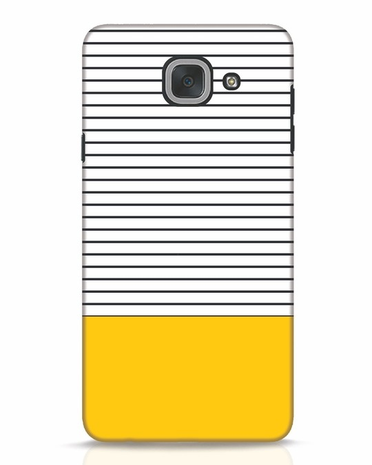 Shop Stripes And Block Samsung Galaxy J7 Max Mobile Cover-Front