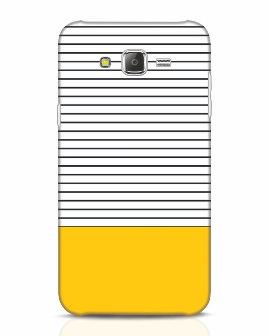 Shop Stripes And Block Samsung Galaxy J7 Mobile Cover-Front