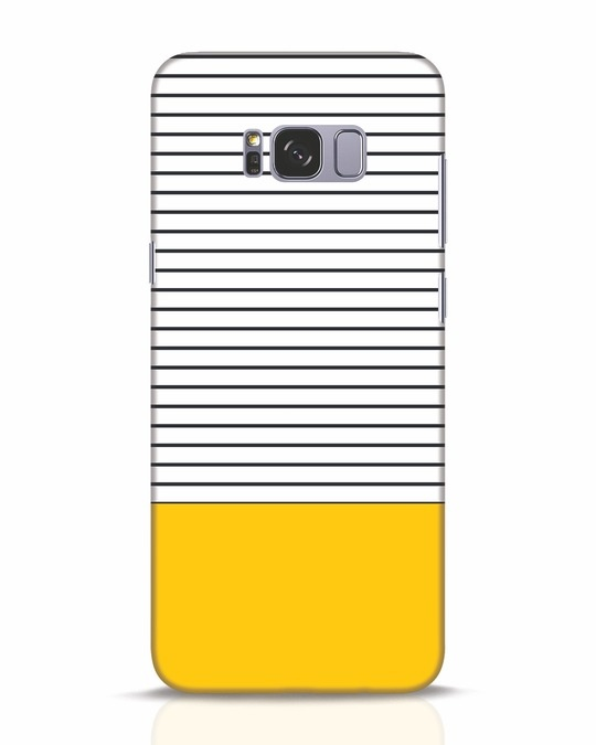 Shop Stripes And Block Samsung Galaxy S8 Plus Mobile Cover-Front