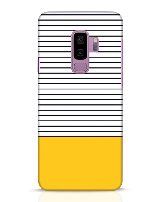 Shop Stripes And Block Samsung Galaxy S9 Plus Mobile Cover-Front