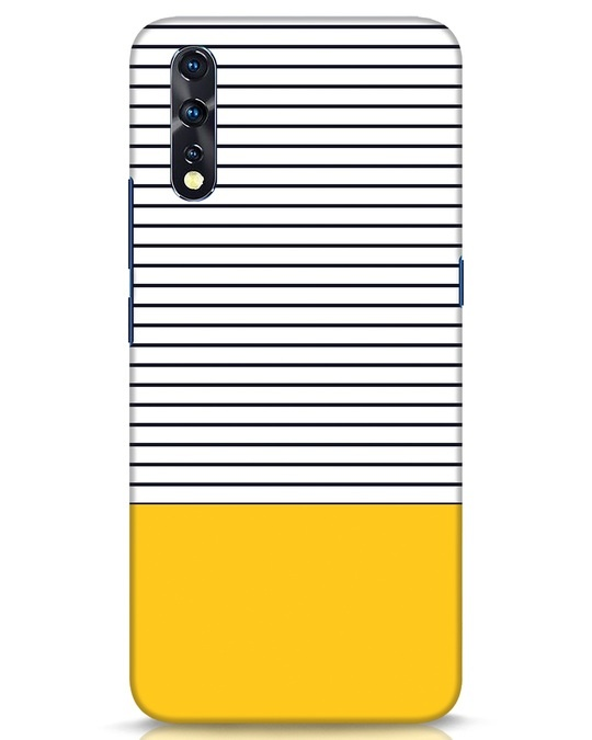 Shop Stripes And Block Vivo Z1x Mobile Cover-Front