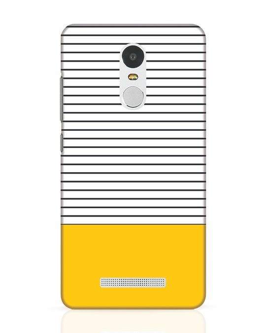 Shop Stripes And Block Xiaomi Redmi Note 3 Mobile Cover-Front