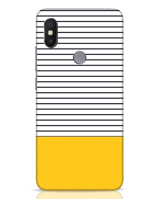 Shop Stripes And Block Xiaomi Redmi Y2 Mobile Cover-Front