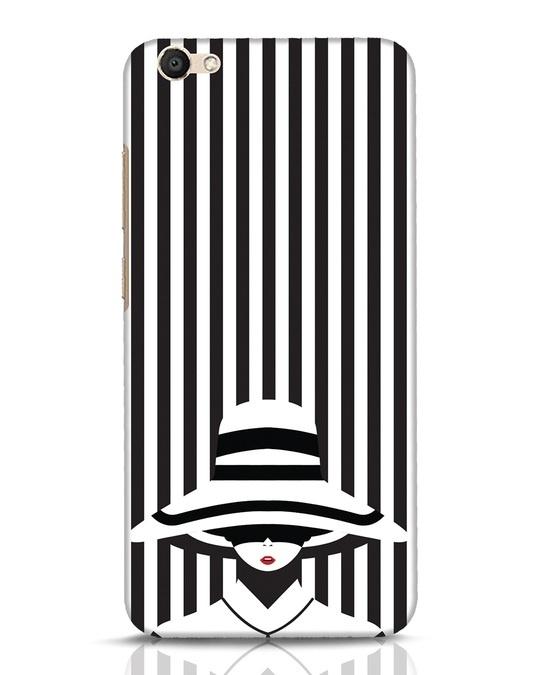 Shop Stripes Lady Vivo V5 Mobile Cover-Front