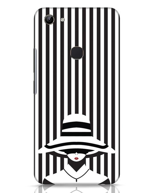Shop Stripes Lady Vivo Y81 Mobile Cover-Front