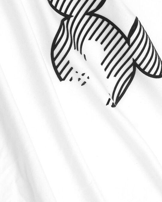 Shop Stripes Mickey Half Sleeve T-Shirt (HD)