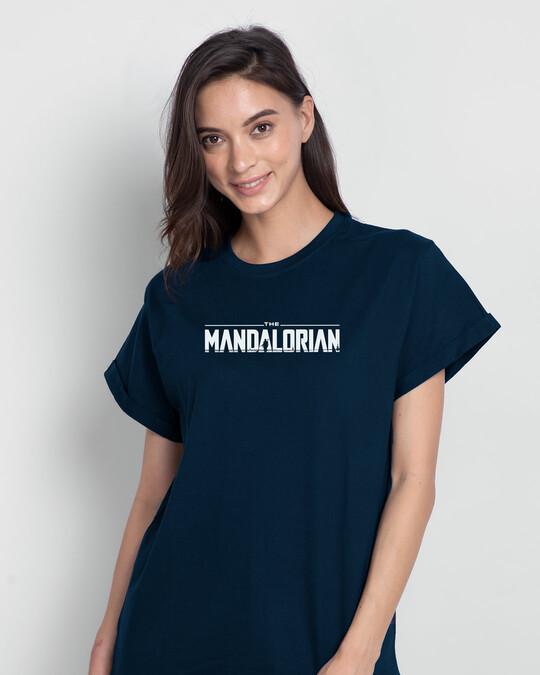 Shop Strong Duo  Boyfriend T-Shirts-Back