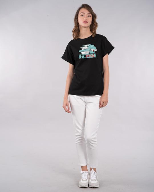 Shop Studying Boyfriend T-Shirt-Design
