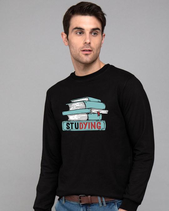 Shop Studying Fleece Light Sweatshirt-Front
